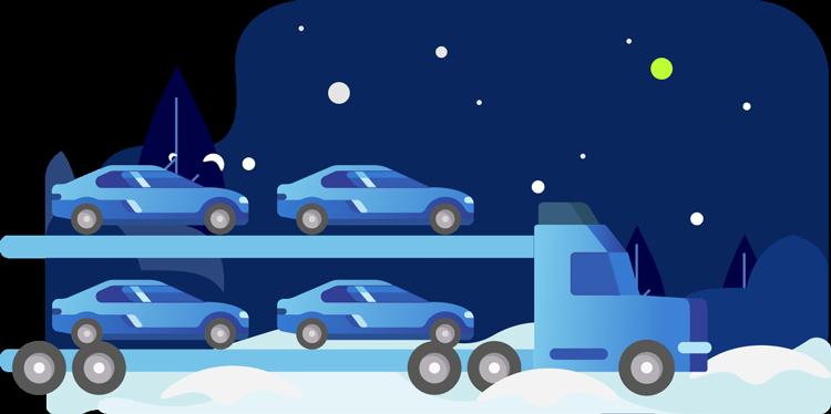 Seasonal auto relocation